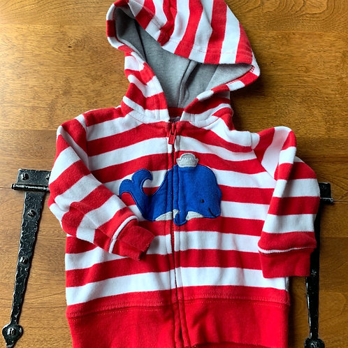 Size 3m CARTER'S Whale Hoodie