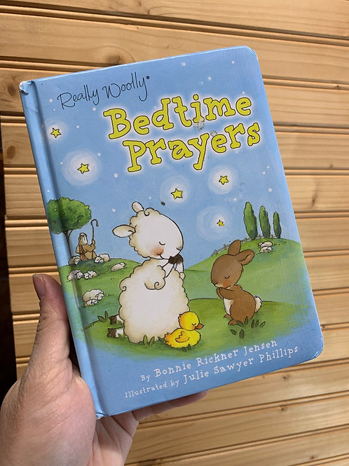 """Really Woolly Bedtime Prayers"", Used Book"