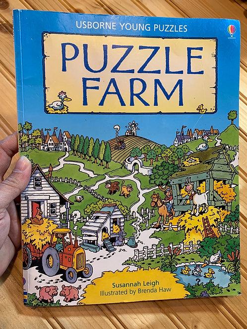 """""""PUZZLE FARM"""" Usborne"""