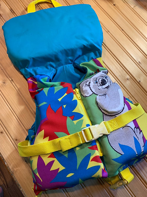 Small Child Koala Boating Safety Vest