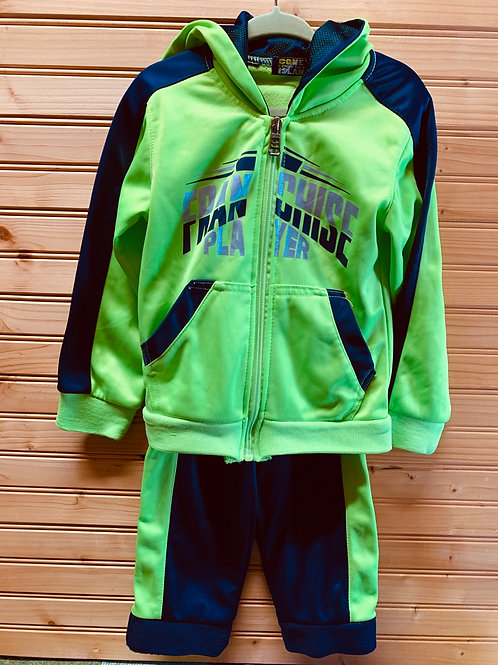 Size 3T Neon Track Suit