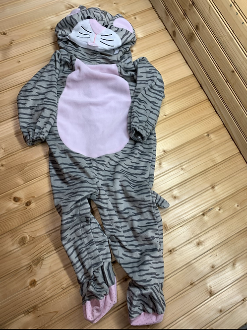 Size 12-24m Grey Stripe Kitty Cat Costume