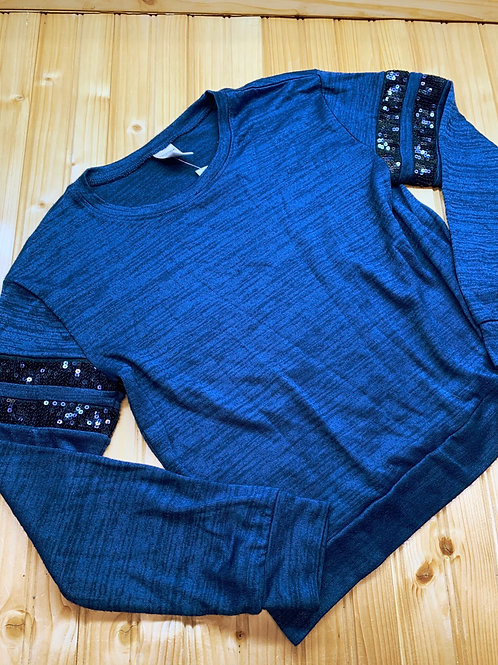 Size 14 ARIZONA Blue Sequined Top