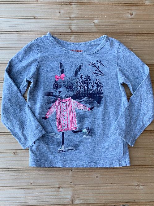 Size 3T Skating Bunny Shirt