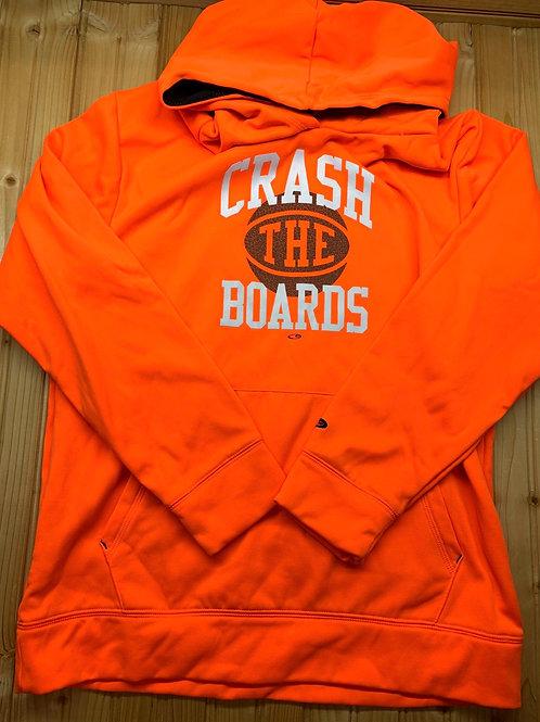 Size 12/14 Neon Orange Hoodie
