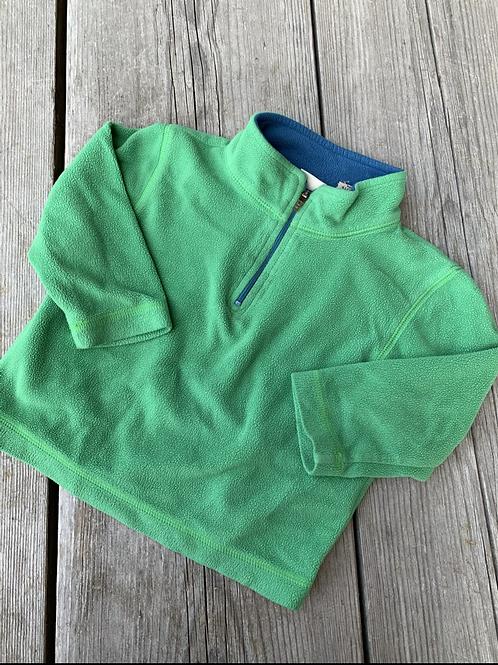Size 2T LL BEAN Green Fleece