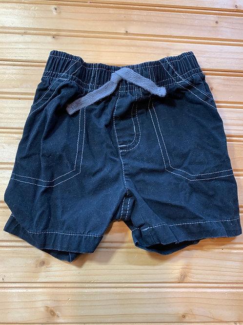 Size 9m Black Shorts, Used