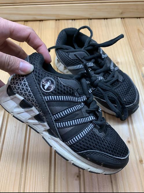 Size 11 Kids XERSION Black Sneakers