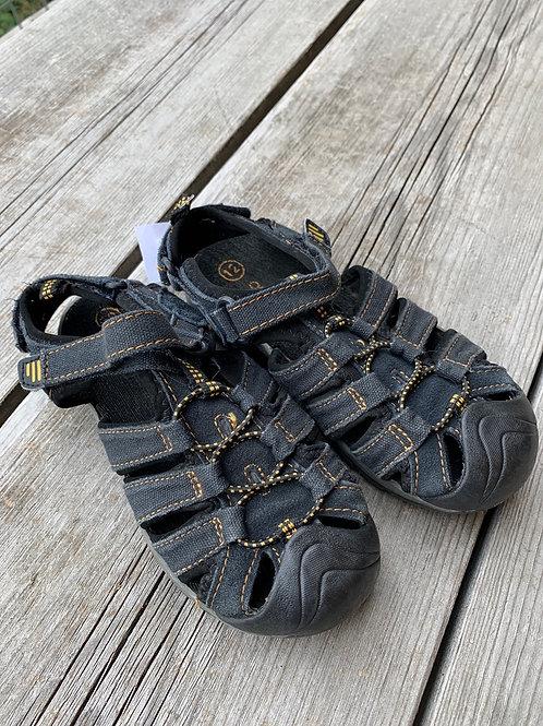 Size 12K Black Sandals