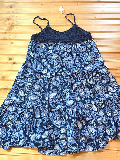 Size 6/7 GAP Blue Summer Dress