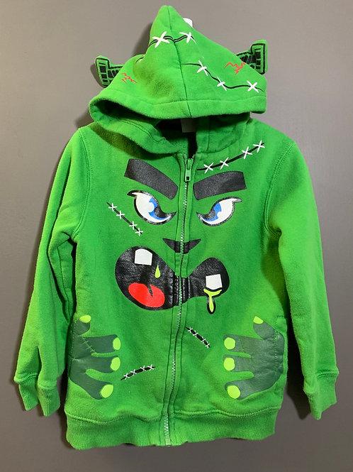 Size 4T Kids HEALTHTEX Frankenstein's Monster Hoodie