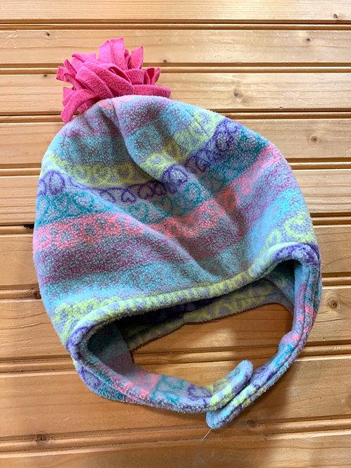 Size 6-12m Pastel Fleece Hat
