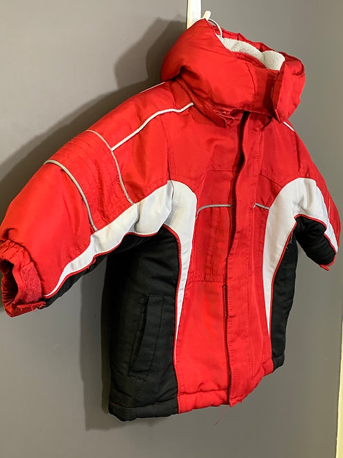 Size 12m FADED GLORY 2-in-1 Red Winter Jacket, Used