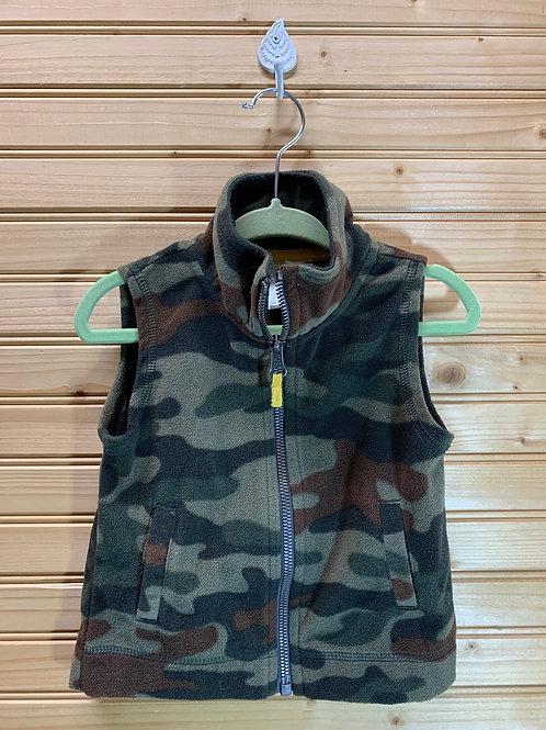 Size 12m Fleece Camo Vest