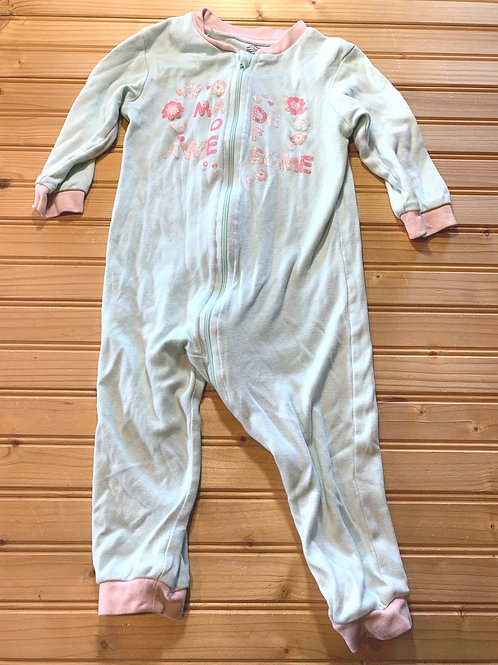 Size 18-24m Pale Blue Awesome PJ, Used