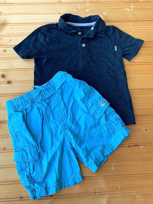 Size 4T Tee Shirt and Shorts