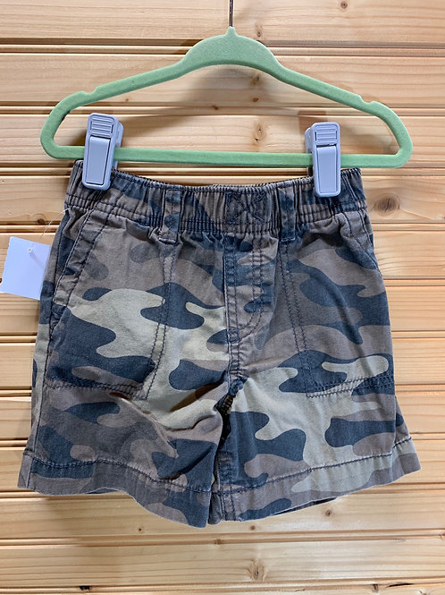Size 18m CARTER'S Camo Cotton Shorts, Used