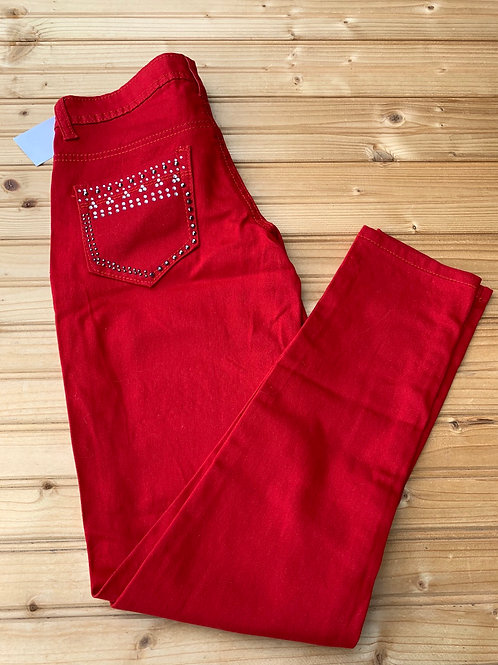 Size 12 Girls Red Pants