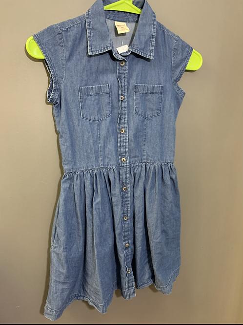 Size 8 ARIZONA Chambray Dress