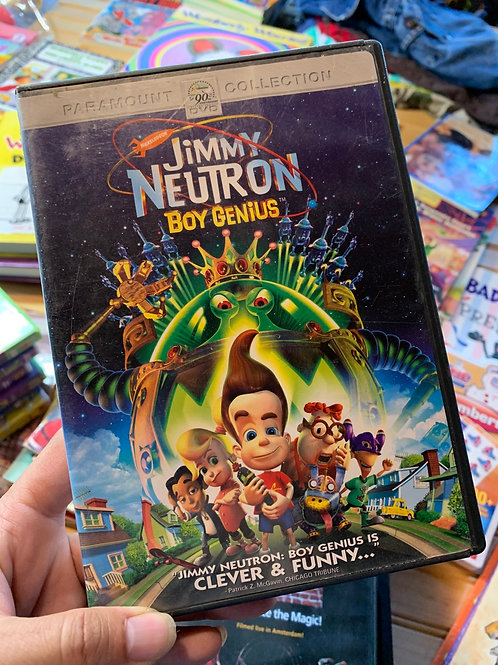 JIMMY NEUTRON: Boy Genius DVD