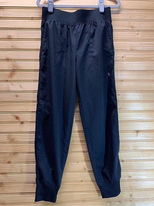 Size 7/8 DANSKIN Black Loose Pants, Used