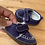 Size 1 Baby (0-3m) Blue Loafers
