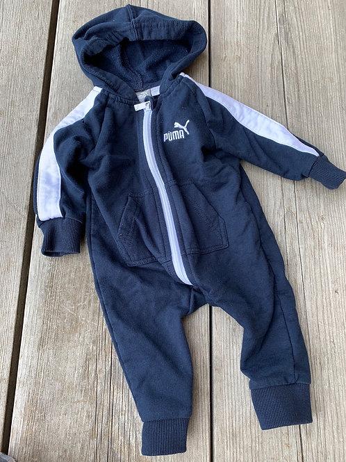 Size 0-3m PUMA Hoodie Bodysuit