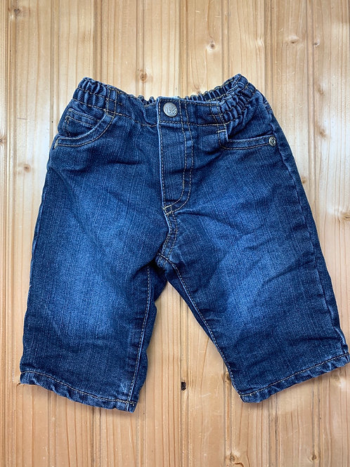 Size 3-6m CHILDREN'S PLACE Lined Jeans, Used
