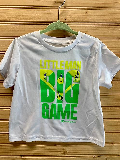 Size 18m Little Man Big Game Shirt