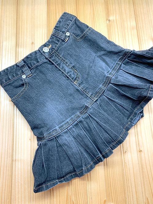 Size 7/8 XHILERATION Grey Jean Skirt