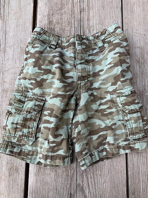 Size 3T Camo Cargo Shorts