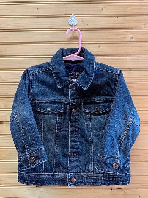 Size 3T Fleece Lined Jean Jacket