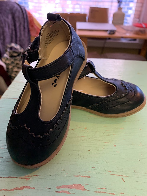 6 Toddler Navy Blue Mary Janes