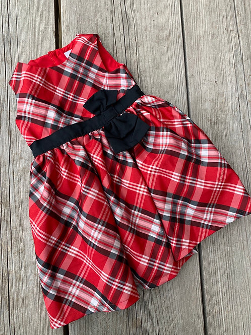 Size 9m CARTER'S Red Plaid Dress
