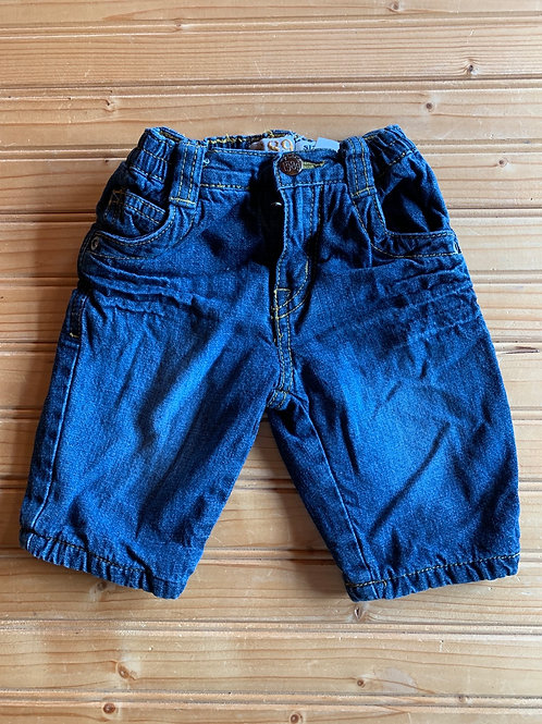 Size 0-3m Lined Jeans