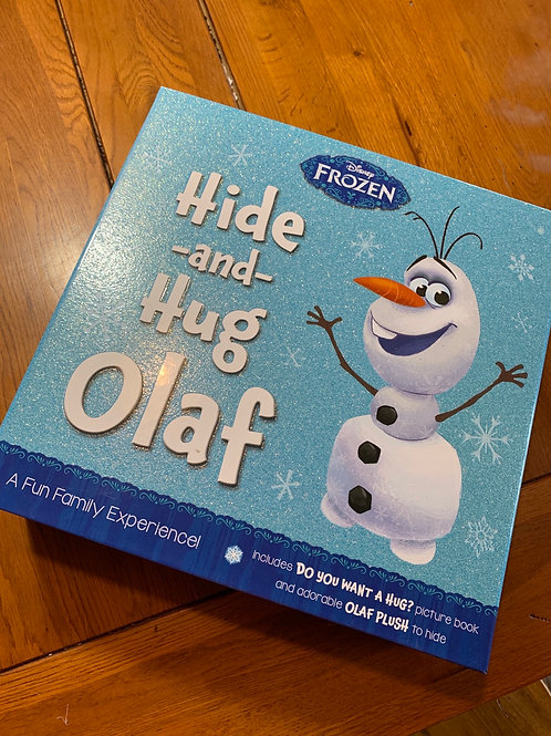 DISNEY FROZEN Olaf Plush and Book Set front