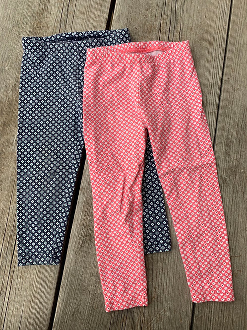 Size 24m CARTER'S 2 Leggings
