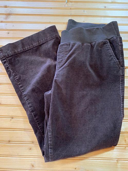 Size XL Maternity Brown Corduroy Pants