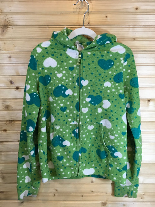 Size XL 14Y Kids CHILDREN'S PLACE Green Heart Hoodie