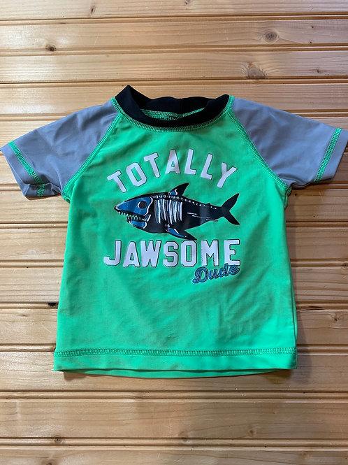 Size 12m Totally Jawsome Swim Shirt