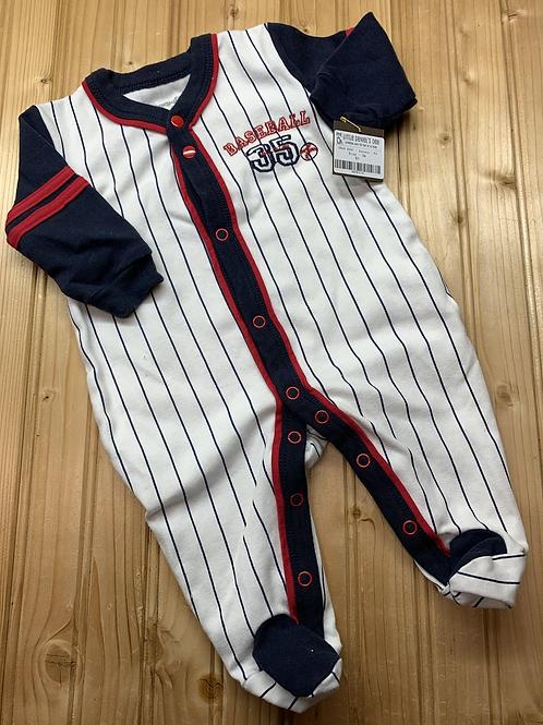 Size 3m SNUGABY Cotton Baseball PJ