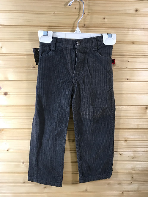 Size 3T DISNEY Grey Corduroy Pants