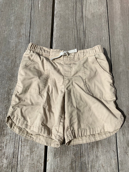Size 7/8 Girls WONDER NATION Tan Shorts, Used