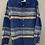 Size 7/8 CRAZY 8 Blue Striped Shirt