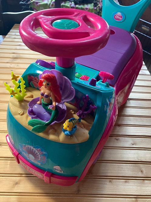 DISNEY Little Mermaid Ride On Toy