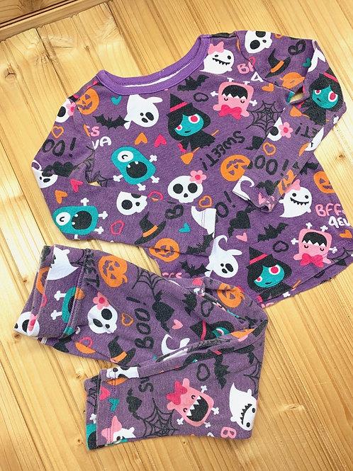 Size 2T JOE BOXER Halloween Cotton 2pc PJ