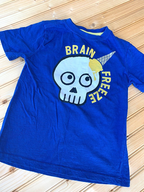 Size 5-6 Brain Freeze Skull Shirt