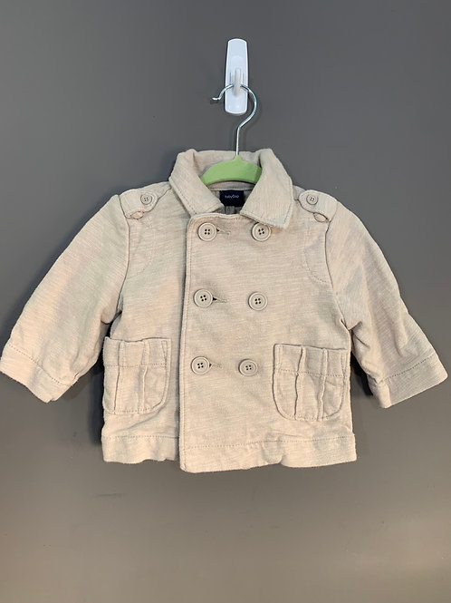 Size 0-6m BABY GAP Taupe Cotton Jacket