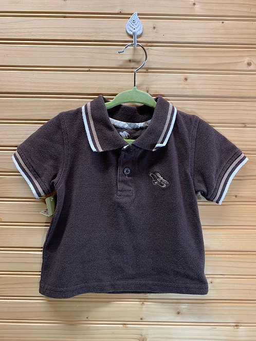 Size 18m AMERICAN HAWK Brown Polo, Used