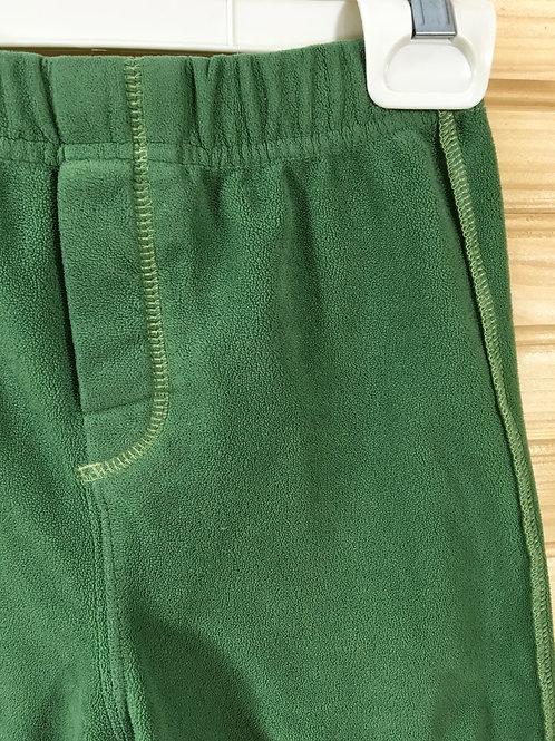 Size 3T CARTER'S Green Fleece Pajama Pants